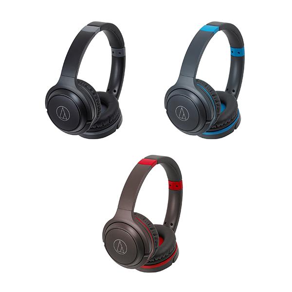 หูฟังไร้สาย Audio Technica ATH-S200BT Wireless On-Ear Headphones with Built-in Mic & Controls