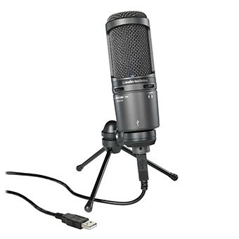 ไมโครโฟน Audio Technica AT2020 USB+