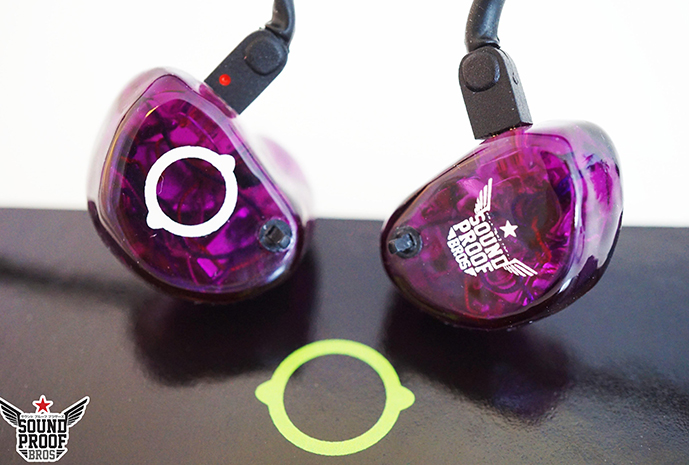 หูฟัง Custom Lime Ears Aether