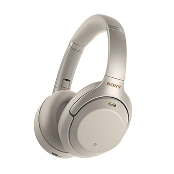 Sony WH1000XM3 Noise-Canceling Headphone (Silver)