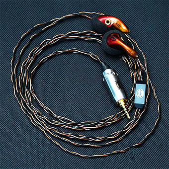 หูฟัง Crystalcore Audio Kryptonite Earbud (150 ohm,jack 3.5 mm)