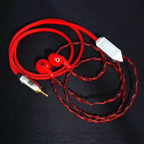 Crystalcore Audio – Kryptonite CRAFT Earbud (150 ohm,jack 3.5 mm)