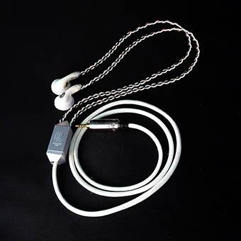 หูฟัง Crystalcore Audio Kryptonite CRAFT Earbud/ GLOW IN THE DARK (150 ohm,jack 3.5 mm)