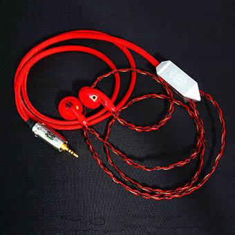 หูฟัง Crystalcore Audio Kryptonite CRAFT Earbud (150 ohm,jack 2.5 mm)