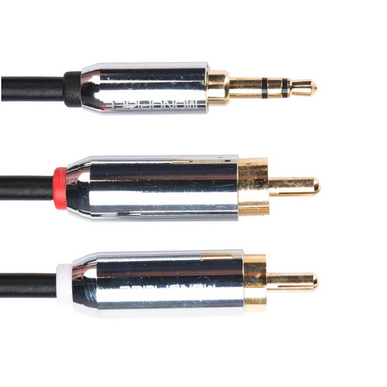 JDS Labs 3.5MM TO RCA CABLE, 3FT