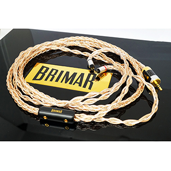 สายอัพเกรดหูฟัง BrimarAudio The Ultima 8X (2.5mm)