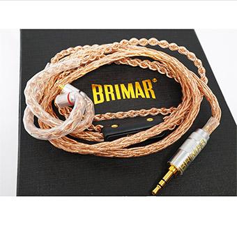 สายอัพเกรดหูฟัง BrimarAudio The Knight 8X (MMCX)