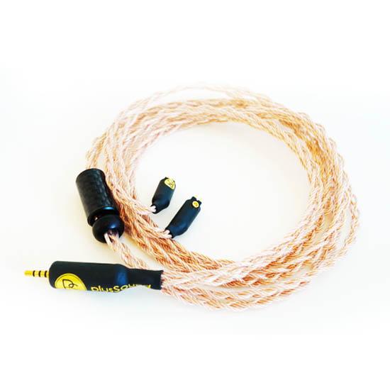 สายอัพเกรดหูฟัง plusSound X6 Series Custom Cable Tri-Metal