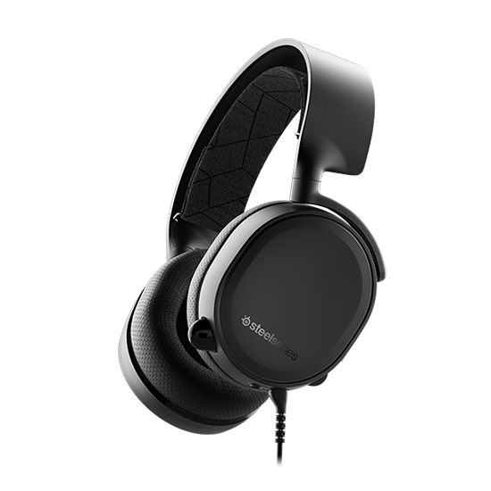 หูฟังเกมมิ่ง 7.1 SteelSeries Arctis 3 7.1 DTS Headphone (Black)