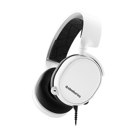 หูฟังเกมมิ่ง 7.1 SteelSeries Arctis 3 7.1 DTS Headphone (White)