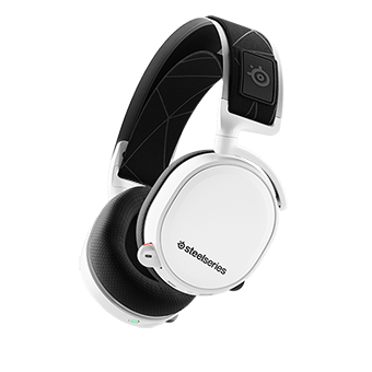 SteelSeries Arctis 7 7.1 DTS Headphone Wireless 2019 Edition (White)