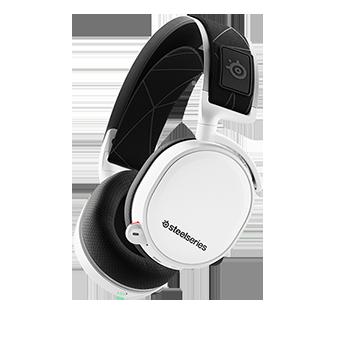 หูฟังเกมมิ่ง 7.1 SteelSeries Arctis 7 7.1 DTS Headphone Wireless 2019 Edition (White)