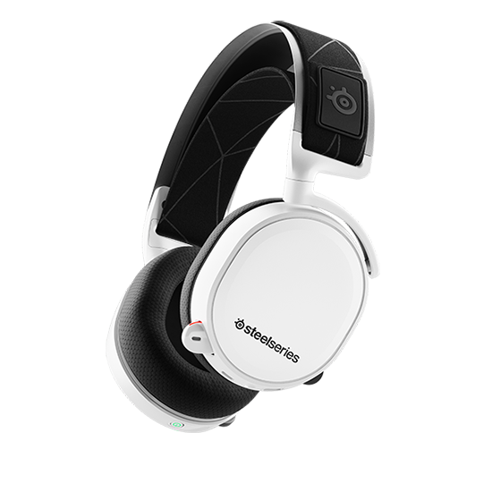 หูฟังเกมมิ่ง 7.1 SteelSeries Arctis 7 7.1 DTS Headphone Wireless 2019 Edition (White)