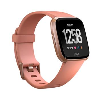 Fitbit Versa SmartWatch (สีทองชมพู/สีทองชมพูอลูมิเนียม)