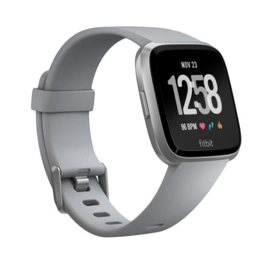 Fitbit Versa SmartWatch (สีเทา/สีเทาอลูมิเนียม)