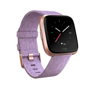 Fitbit Versa SmartWatch (สีทองชมพู/สีลาเวนเดอร์)