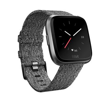 Fitbit Versa SmartWatch (สีกราไฟท์/สีชาโคล)