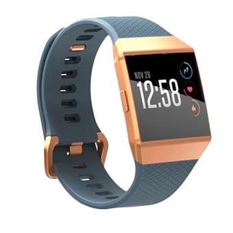 Fitbit Ionic SmartWatch (สีฟ้ากระดานชนวน/สีส้มอิฐ)