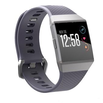 Fitbit Ionic SmartWatch (สีน้ำเงินเทา/สีเงินเทา)