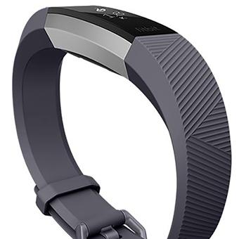 Fitbit Alta HR (สีน้ำเงินเทา/สีสแตนเลส)
