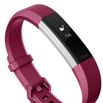 Fitbit Alta HR (สีฟิวเซีย/สีสแตนเลส)
