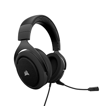 หูฟังเกมมิ่ง Corsair HS50 Stereo Gaming Headset (Carbon)