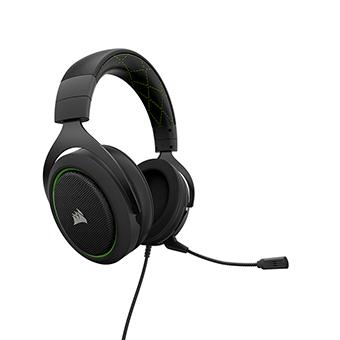 หูฟังเกมมิ่ง Corsair HS50 Stereo Gaming Headset (Green)