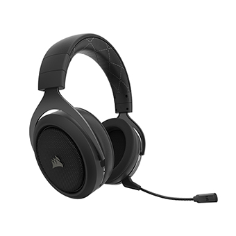 Corsair HS70 SURROUND หูฟังไร้สาย WIRELESS Gaming Headset (Carbon)