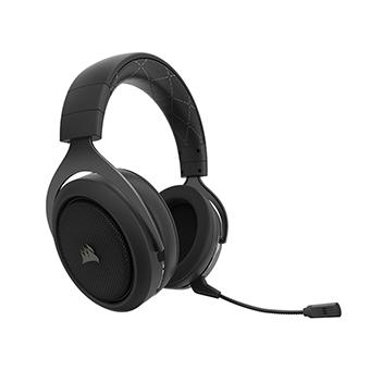 หูฟังเกมมิ่ง ไร้สาย Corsair HS70 SURROUND WIRELESS Gaming Headset (Carbon)
