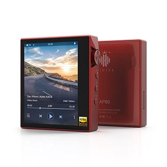 Hidizs AP80 เครื่องเล่นเพลง (สีแดง)