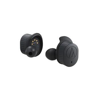 Audio Technica ATH-SPORT7TW หูฟังไร้สาย Truly Wireless (สีดำ)
