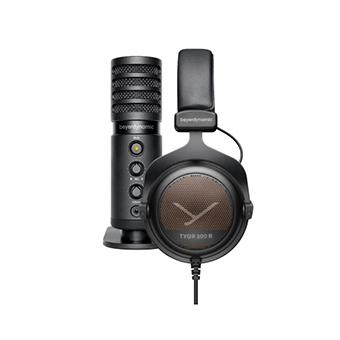 หูฟังพร้อมไมโครโฟน Beyerdynamic TEAM TYGR 300 R Headphone and FOX Professional USB Studio Microphone