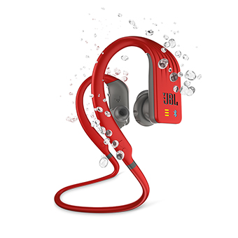JBL Endurance DIVE Wireless Sports Headphones with MP3 Player (สีแดง)