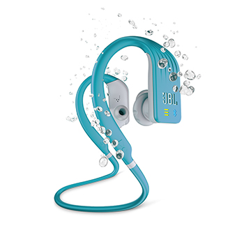 JBL Endurance DIVE Wireless Sports Headphones with MP3 Player (สีฟ้า)