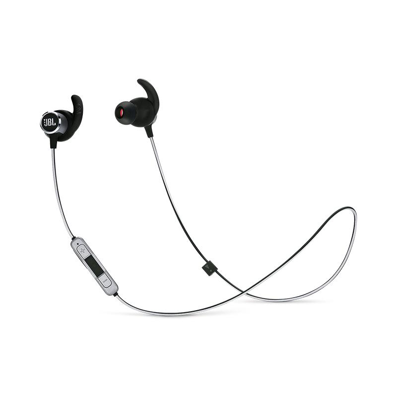 JBL REFLECT MINI 2 Sweatproof Wireless Sport In-Ear Headphones (Black)