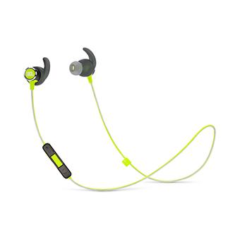 JBL REFLECT MINI 2 Sweatproof Wireless Sport In-Ear Headphones (สีดำ/เหลือง)