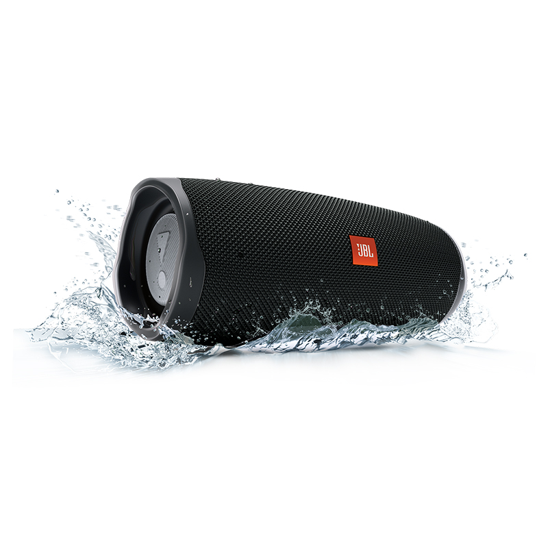 ลำโพงไร้สาย Bluetooth JBL Charge 4 Portable Bluetooth speaker (Black)