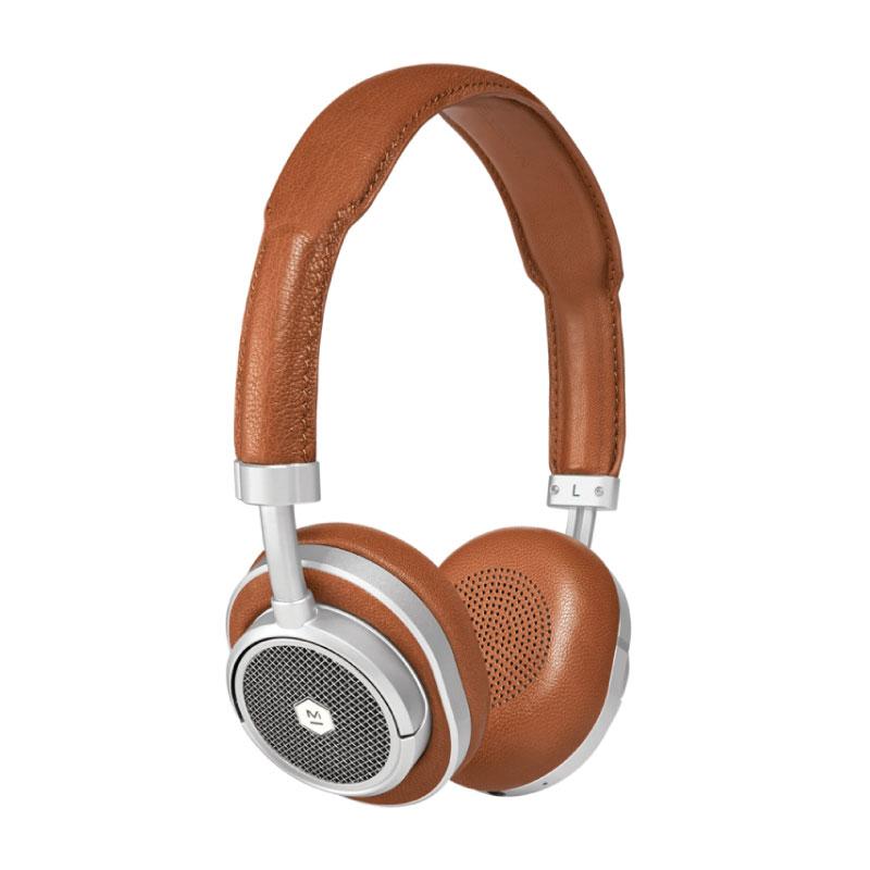 Master & Dynamic MW50+ 2-In-1 Wireless On-Ear + Over-Ear Headphones (Brown)
