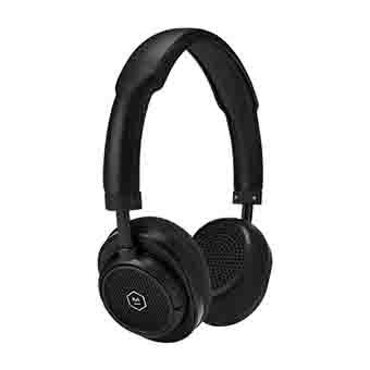 Master & Dynamic MW50+ 2-In-1 Wireless On-Ear + Over-Ear Headphones (Black)
