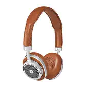 Master & Dynamic MW50+ 2-In-1 Wireless On-Ear + Over-Ear Headphones (Brown)