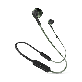 JBL TUNE 205 BT EARBUD HEADPHONES (GREEN)