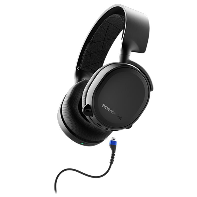 หูฟังเกมมิ่งไร้สาย SteelSeries Arctis 3 BLUETOOTH (Black)