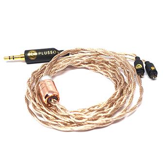 สายอัพเกรดหูฟัง plusSound Exo Series T-Metal Custom Cable (2pin)