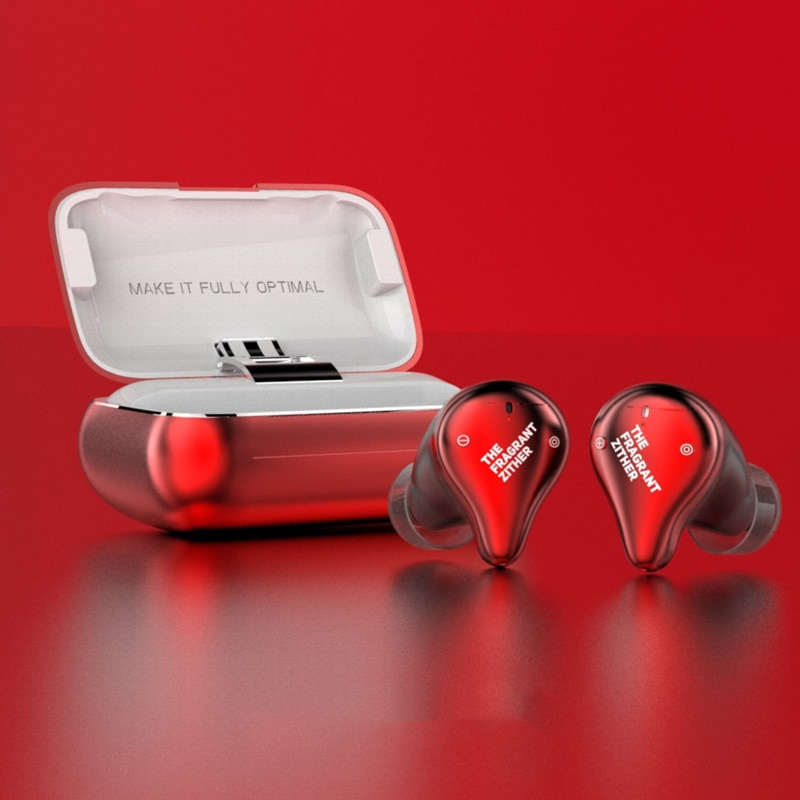 หูฟังไร้สาย TFZ X1E True Wireless Bluetooth5.0 WaterProof (Red)