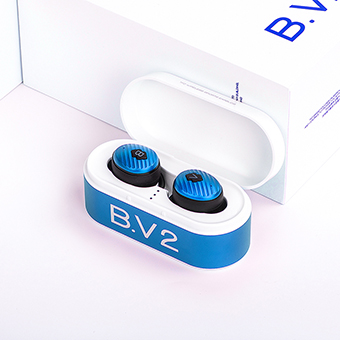 หูฟังไร้สาย TFZ B.V2 True Wireless earphone Bluetooth 5.0 (Jewerlry Blue)