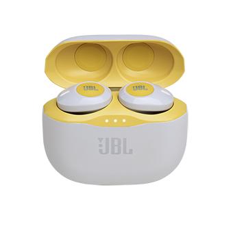หูฟังไร้สาย JBL TUNE 120TWS TRULY WIRELESS IN-EAR HEADPHONES (Yellow)