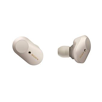 หูฟังไร้สาย ตัดเสียงรบกวน SONY WF-1000XM3 Noise-Cancelling Headphones (Gold)
