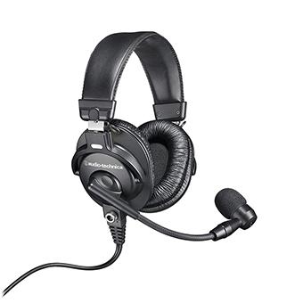 หูฟัง Audio Technica BPHS1 Broadcast stereo headset with dynamic boom microphone