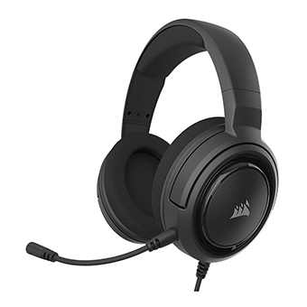 หูฟังเกมมิ่ง Corsair HS35 Stereo Gaming Headset (Black)