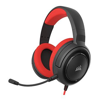 หูฟังเกมมิ่ง Corsair HS35 Stereo Gaming Headset (Red)